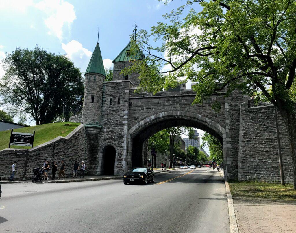Porte St Louis of Quebec City