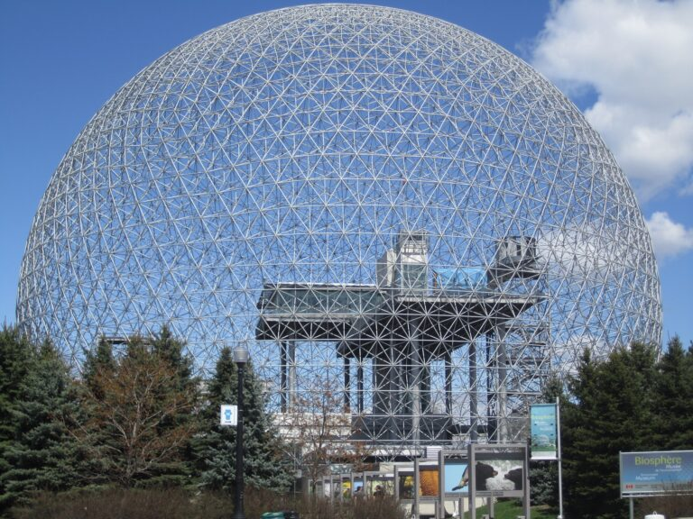 Geodesic dome in Montreal