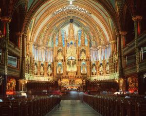 The incredible altar at notre dame basilica